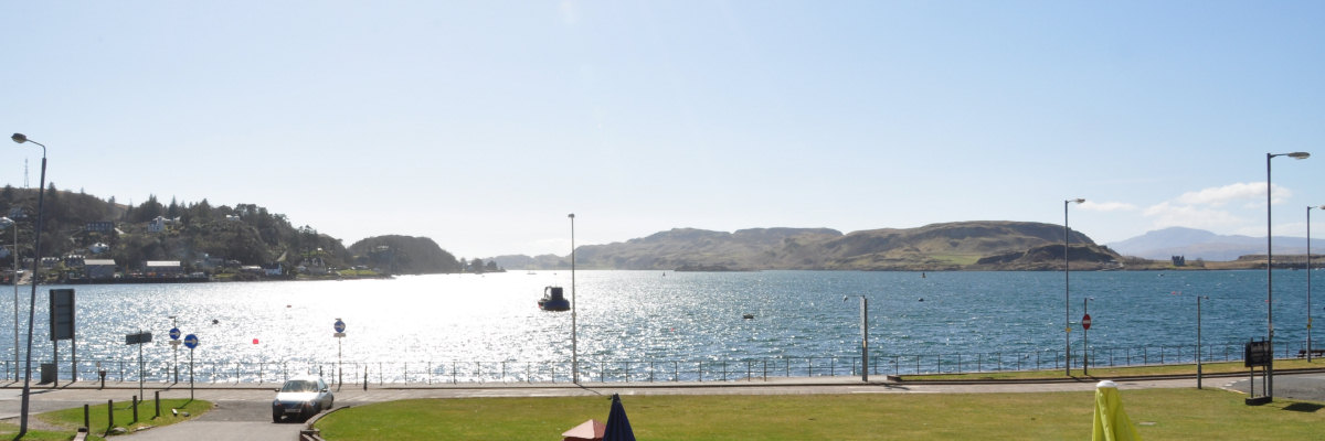 View of Oban Esplanade